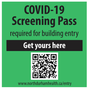 Click here to get your COVID-19 screening pass for building entry